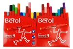 Berol Colour Broad 24 Pennor